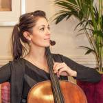 solo cellist live performance at wedding.