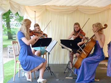 String Quartet Wedding.Wedding String Quartet Prices A Guide To What You Might Pay