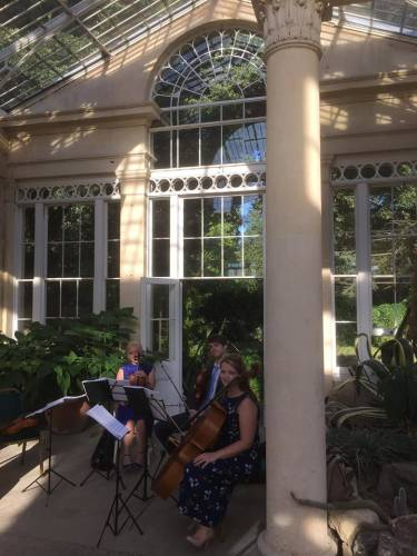 'Love Scarlett' featured Syon Park Wedding with our String Quartet
