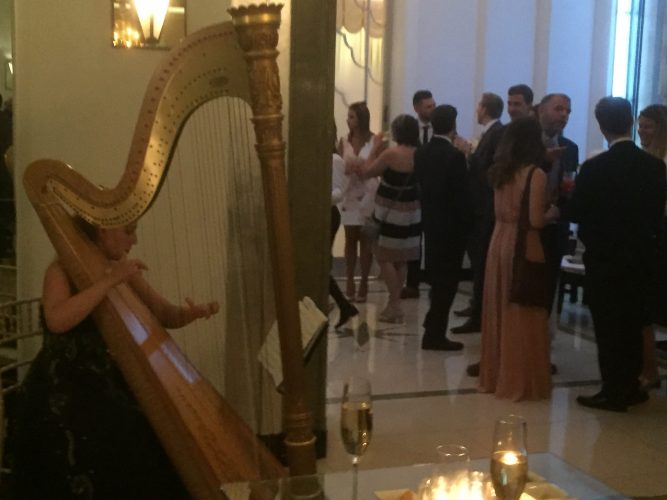 Live Music Package for a Wedding in Claridge's