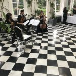 hire live string trio for wedding