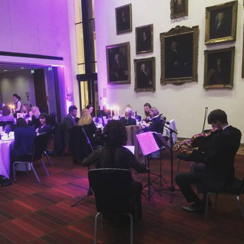 String Quartet at the Royal College of Physicians for a Medical Conference