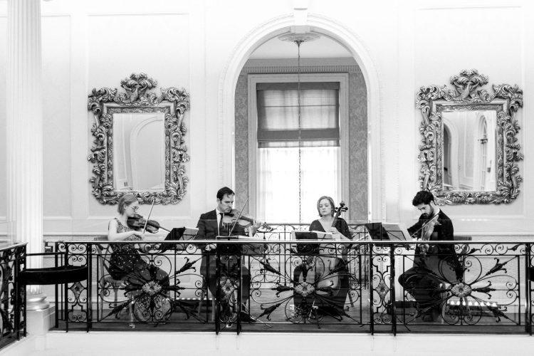 String Quartet in Hedsor House