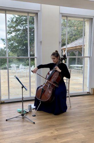 Solo Cello in Richmond Wedding